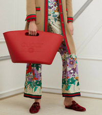 Gucci Unisex Rubber Tote Bag Handbag Shopper Shoulder Bag Weekender