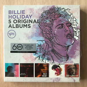 BILLIE HOLIDAY - 5 ORIGINAL ALBUMS 5 CD  (BODY AND SOUL/STAY WITH ME)