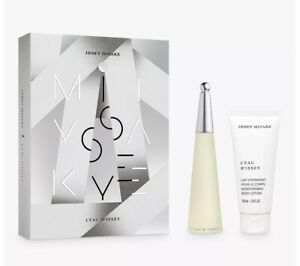 Issey Miyake L'eau D'issey Pour Femme - Gift Set With 50ml EDT Spray and 100ml B