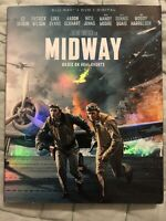 MIDWAY  BLU-RAY + DVD + DIGITAL * NEW
