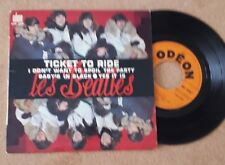 FRENCH EP BEATLES Ticket To Ride  SOE 3766