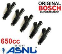 5 x 650cc Fuel Injectors for Volvo 5 cylinder 2.5 650cc (some)