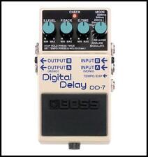 Boss DD-7 Digital Delay Guitar Effects Pedal New