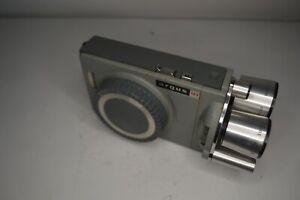Argus M3 8mm Movie Camera with Turret Lens, Antique Vintage