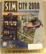 SIM CITY 2000 - SPECIAL EDITION (1998) BIG BOX PC CD-Rom WINDOWS DOS NEW SEALED