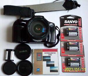 Minolta Maxxum / Dynax 7xi + intervalometer card + batteries, excellent ++