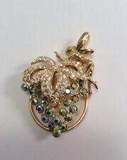 Kirks Folly NWOT Vineyard Grape Fairy Scarf Ring Gold