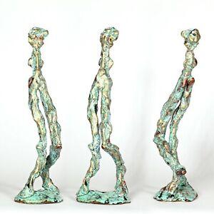 "Kunst Skulptur ""Linos"" 25cm Unikat Andreas Loeschner-Gornau"