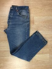 Mens 34x31 Levis 501XX WPL 423 Medium Wash Vintage Blue Button Fly Straight EUC