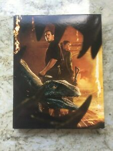 Jurassic World Fallen Kingdom, 3 Disc Limited Edition Slipcover Blu-ray and DVD