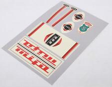 MIFA Decals Sticker Dekor rot 7-teilig Set 60er/70er DDR Klapprad Aufkleber