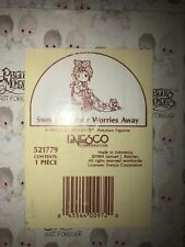 Precious Moments figurine new Sweep All Your Worries Away