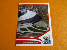 9 STADE DURBAN STADIUM PANINI FOOTBALL FIFA WORLD CUP 2010 COUPE DU MONDE