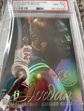 1996 Flair Showcase Row 2 #23 Michael Jordan PSA 8
