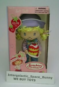 Strawberry Shortcake soft doll NEW nib box dic fun4all figure toy plush vtgbb