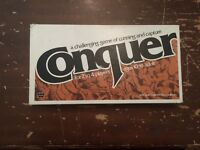 Vintage 1979 Conquer Board Game Whitman Complete