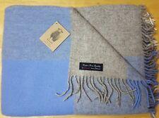 Extra Soft Sofa Bed Throw Blanket 100% Fine Merino Wool 140 x 200 Nice Gift