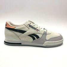 Reebok Phase 1 Pro FT Shoes Chalk Sunbaked Orange Mens Sizes