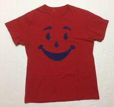 Vtg 90s Tshirt Kool Aid Man Size Small Red Old School Rare OG Vintage Fashion TV