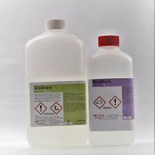 1,2 kg Epoxidharz kristallklar - Gießharz für Schmuck, Möbel, Modellbau
