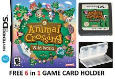 Animal Crossing: Wild World Nintendo DS NDS Lite DSi 2DS 3DS XL Game