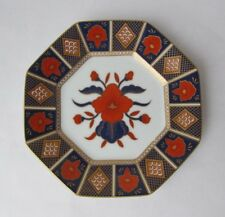 "FiTZ AND FLOYD ""EMPRESS"" Octagon ImarI B & B Plate Original Tag  Blue, Red, Gold"