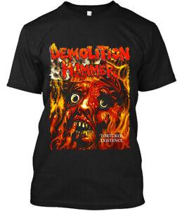 NWT Demolition Hammer Tortured Existence American Thrash Metal T-Shirt S-3XL