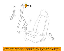 Chevrolet GM OEM 07-11 HHR Front Seat Belt-Retractor Assembly Cover 15281738