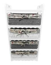 Assembled White 4 Chest of Draws Livingroom Hallway Bedroom Storage Unit Cabinet
