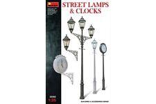 Miniart 35560 1/35 Street Lamps & Clocks
