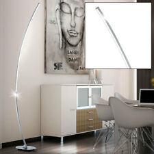 LED Standing Lamp Curved Ceiling Floodlights Reading Dining Room Floor Posture