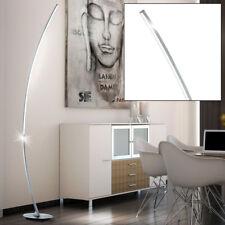 LED Chambre à coucher Lumière Arc Lampadaire Aluminium Brossé commutable H 158