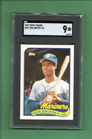 1989 Topps Traded Ken Griffey Jr ROOKIE Card update #41T Mariners HOF mint SGC 9