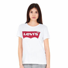 "17369-0053, Levis T-Shirt �€"" The Perfect Large Batwing white, Women, 2017, Cotton"