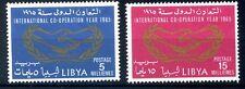 LIBIA INDIPENDENTE 1965 - ANNO DELLA COOPERAZIONE  SERIE  NUOVA **