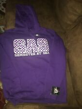 NEW WITH TAGS J M AMERICA ZEN Vintage Yoga Purple Thermal Shirt with Pouch