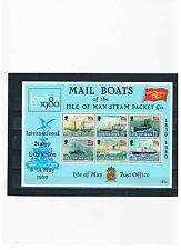 GB-Isle of Man 1980,Block 3,International Stamp exhibition,mint