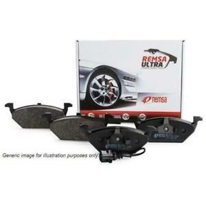 Remsa Disc Brake Pad Set - 084200UC (Rear) Suit Citroen Mazda Renault Volvo