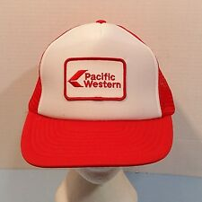 Pacific Western Airlines Truckers Baseball Dad Hat Mesh Cap