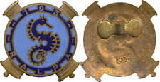 193° R.A.L.P.A, 1° Groupe, fond bleu ciel, hippocampe, A.Augis Lyon