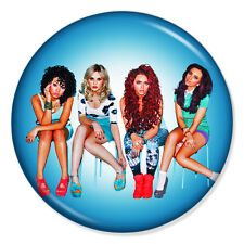 """LITTLE MIX 25mm 1"""" Pin Badge Button JADE PERRIE JESY LEIGH-ANNE (1)"""