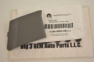 2006 2007 2008 Dodge Ram LH Seat Belt Anchor Trim Slate Gray new OEM 1CM49BD5AB