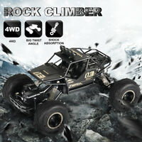 1/16 4WD RC Monster Truck Off-Road Vehicle 2.4G Remote Control Crawler Car Toy