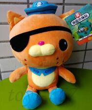Octonauts Cartoon 11'' kwazii Stuffed Animal Underwater Adventures Plush Toy