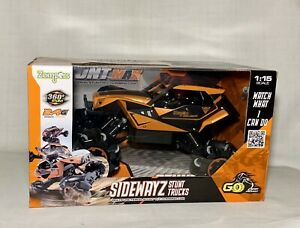 Zompers Sidewayz Stunt Max R/C Climbing Car Trucks 2.4G 1:15 Scale NEW Off Road