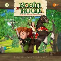 ROBIN HOOD-SCHLITZOHR VON SHERWOOD - ROBIN UND DER KÖNIG (14)-HÖRSPIEL  CD NEW