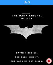 The Dark Knight Trilogy [Blu-ray Box Set Region Free Batman Begins Rises] NEW