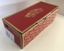 VANS EMPTY SHOE BOX with Paper Insert Mens Size 12 BOX ONLY!
