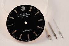Rolex 5500 AIR KING Watch Black Dial - 1520 Cal - With Original hands as a gift-