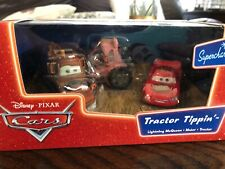 Disney Pixar Cars Supercharged Tractor Tippin' Die-cast 3 Pack Mater McQueen